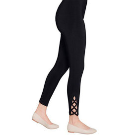 Sympli Zig-Zag Leggings - Black