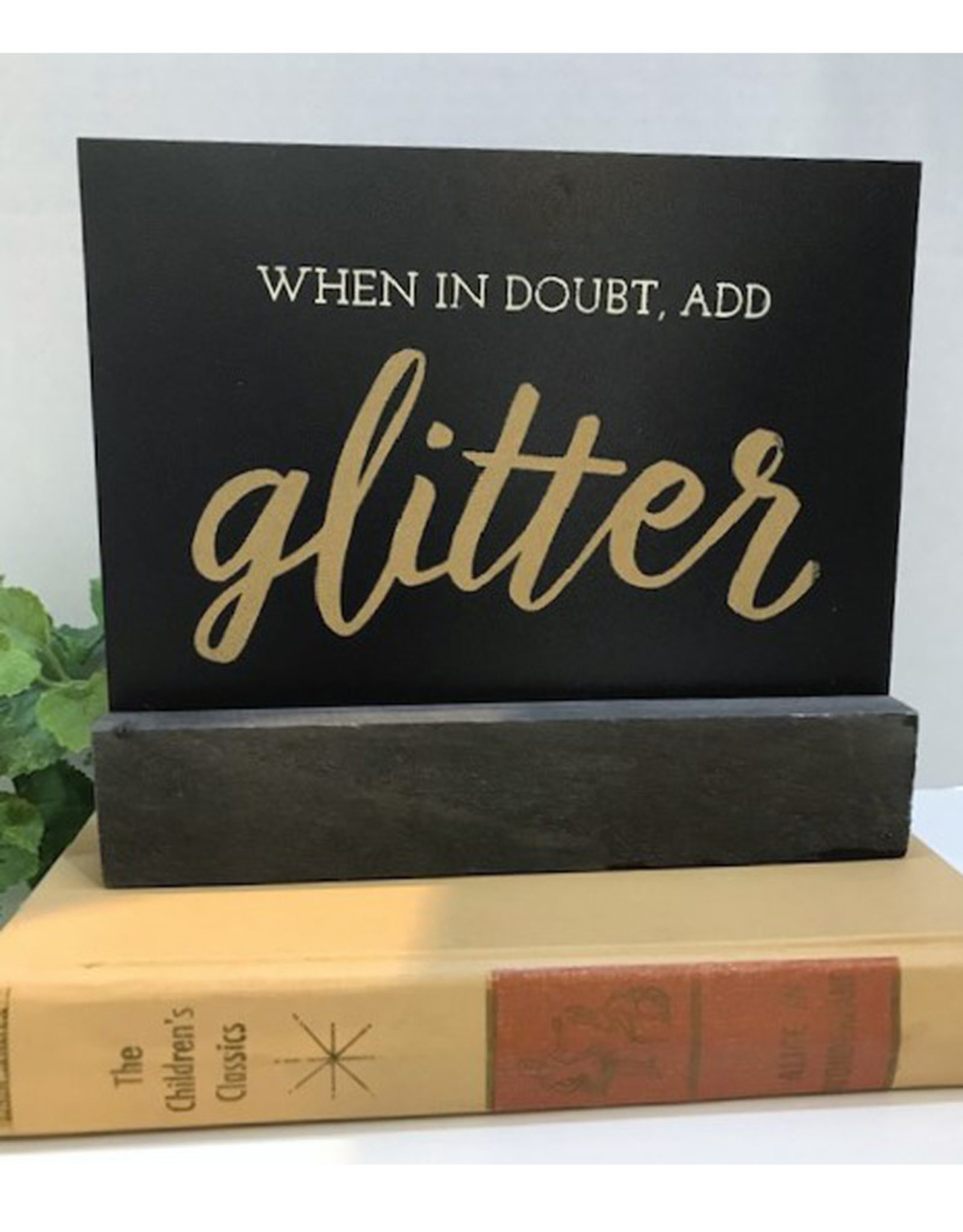 Double Sided Chalk Sign