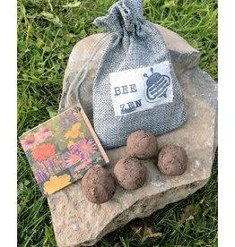 Bee Zen Garden Seed Bomb