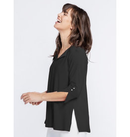 Sympli Glow Top - Black