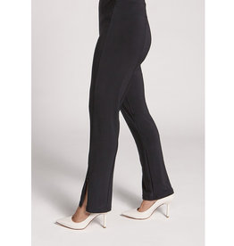 Sympli Slim Zip Pant - Black