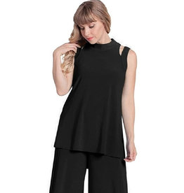 Sympli Jolt Top - Black
