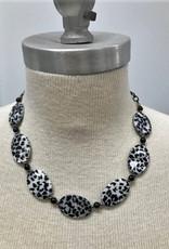 Cheetah Beaded Necklace