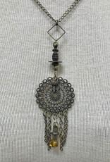Bronze Pendant Necklace