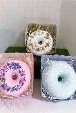 Tish's Bath & Suds Donut Bath Bomb - Three Scents