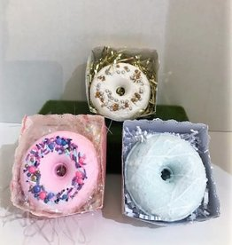 Tish's Bath & Suds Donut Bath Bomb - Three Scents