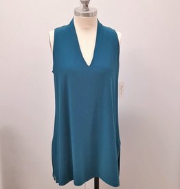 Sympli Sleeveless Deep V Tunic - Size 12 (Consignment)