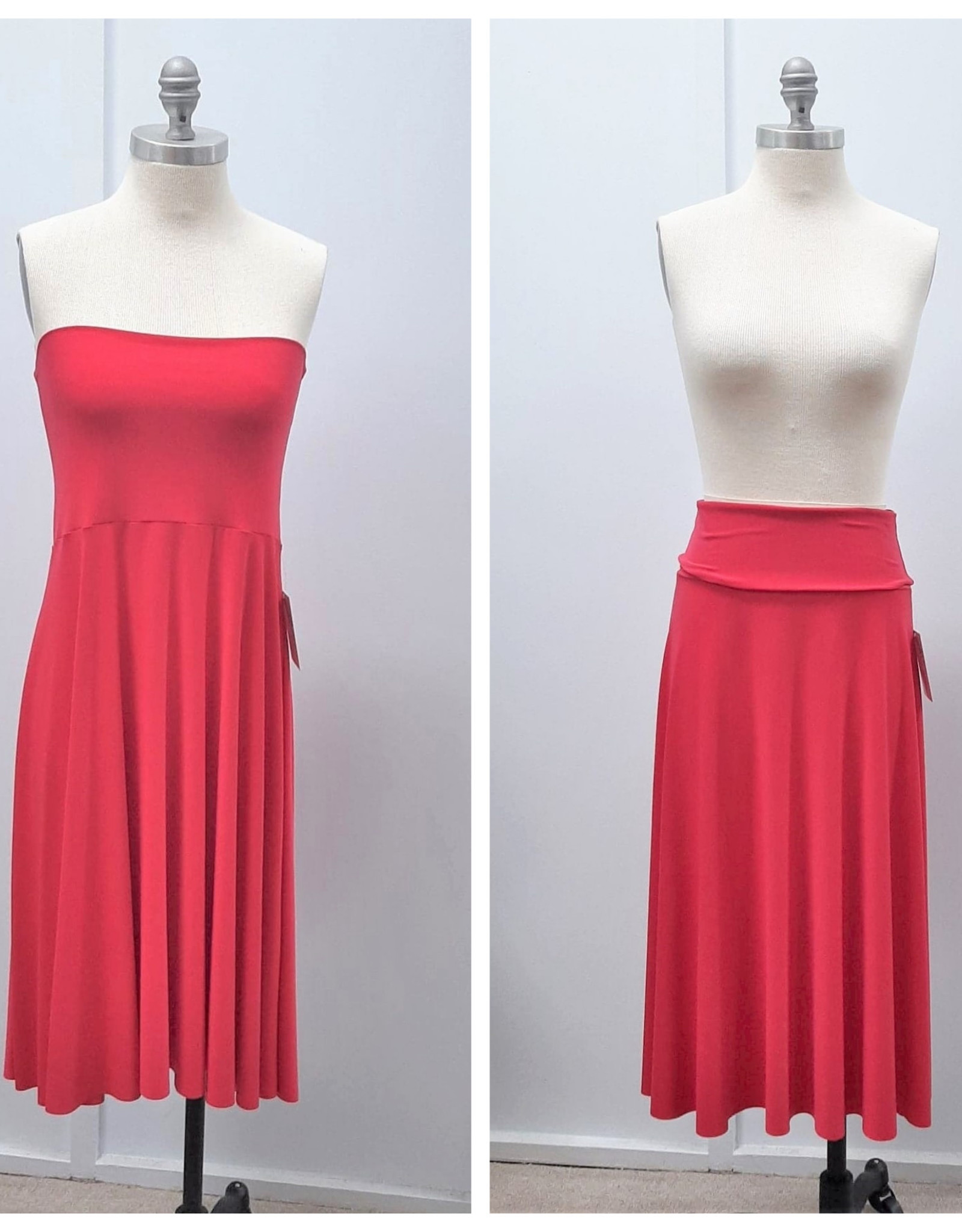 Sympli Maxi Skirt/ Tube Dress - Size 10 (Consignment)