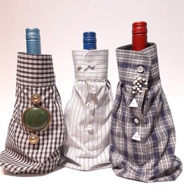 Up-cycled Wine Sleeve  - Variety of Designs