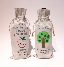 Teacher Wine Bag - Variety of Designs