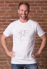 """Ride with Pride, Canada"" Bike T-shirt - 3 Colors Unisex Cut"
