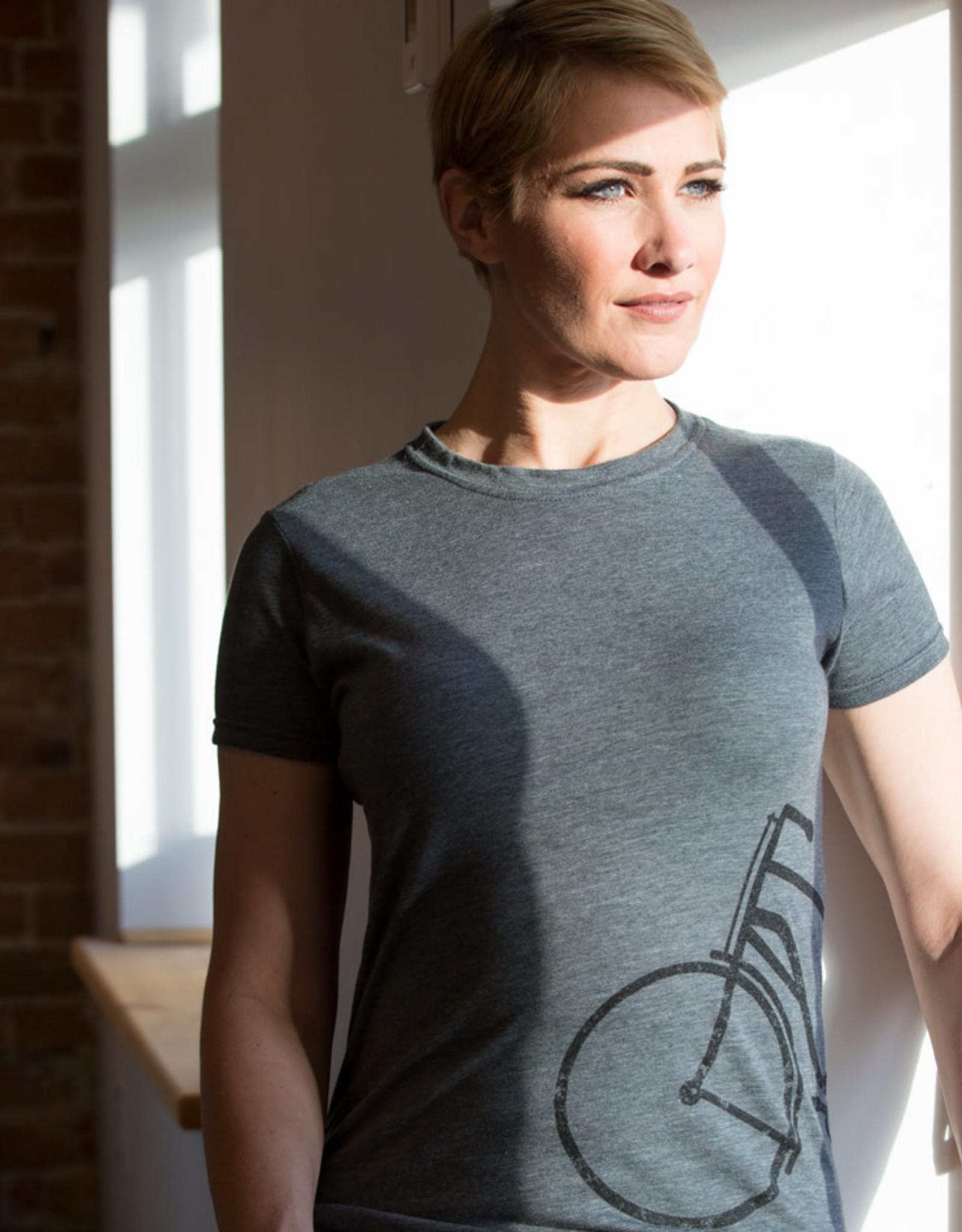Half Bike T-shirt - 2 Colors Female Cut