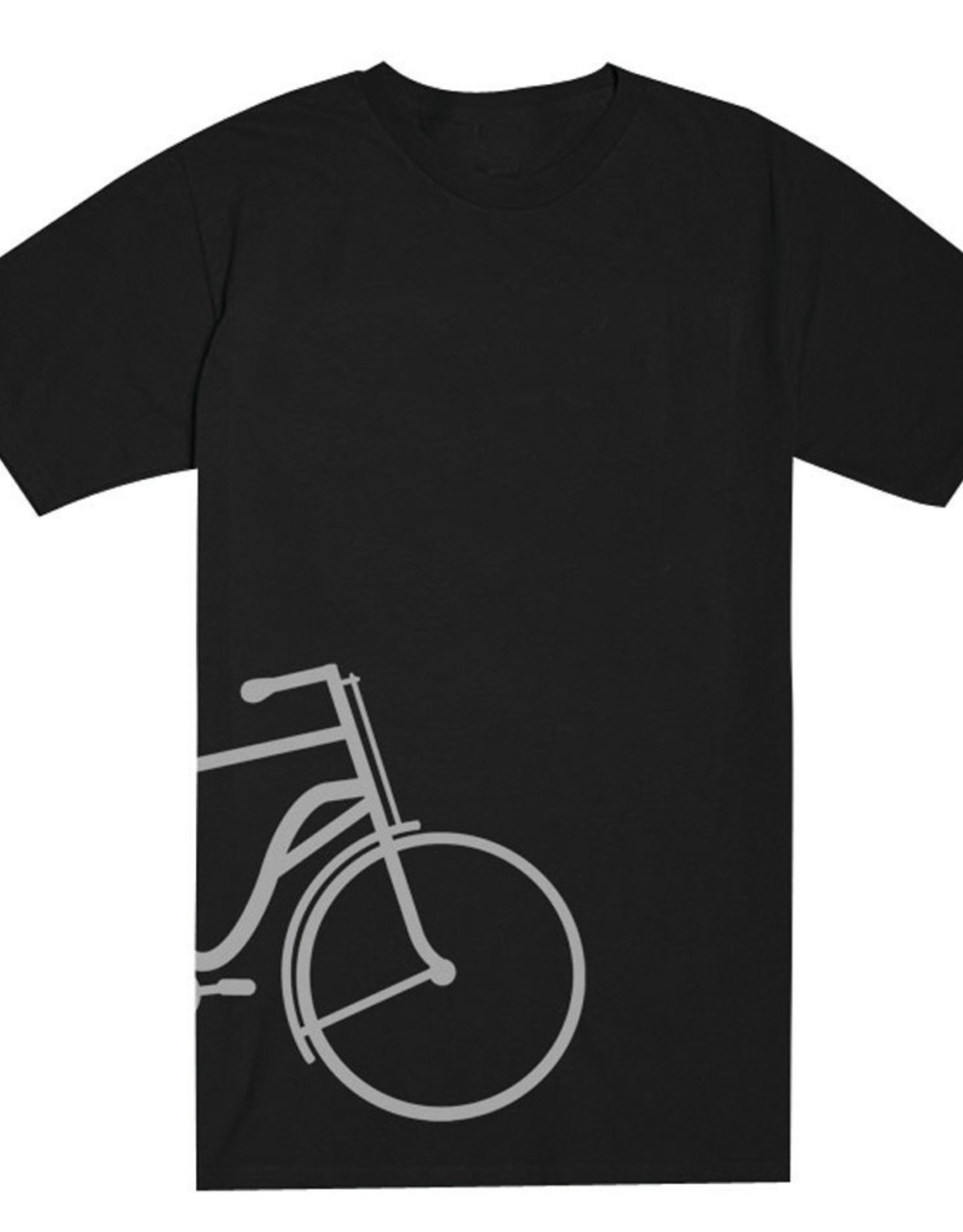 Half Bike T-shirt - 2 Colors Unisex Cut