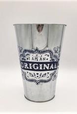 "Decorative Tin Bucket - ""I am Original"""