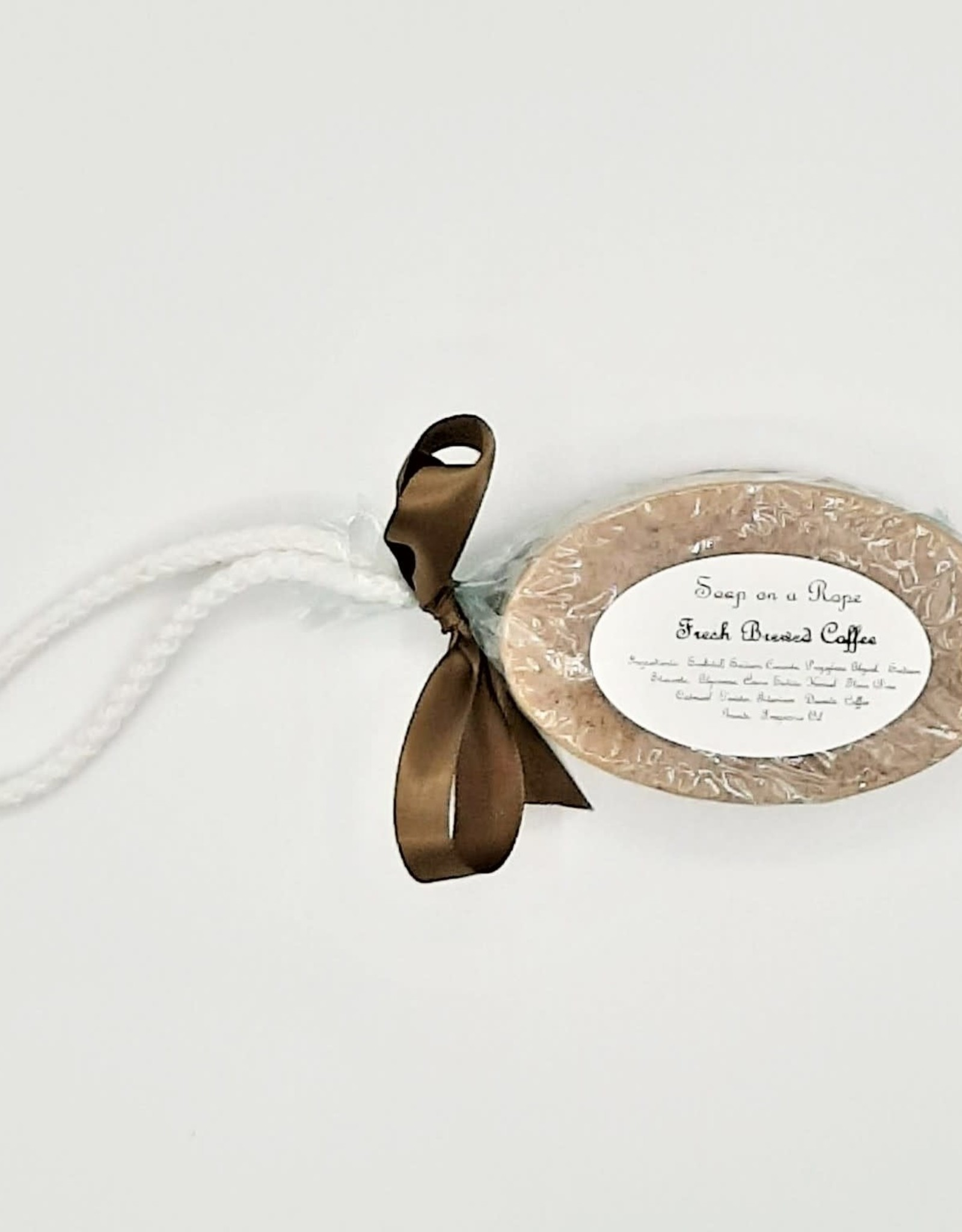 Tish's Bath & Suds Coffee Soap on a Rope