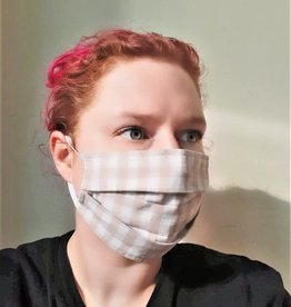 Pleated Face Masks (Variety of Prints)