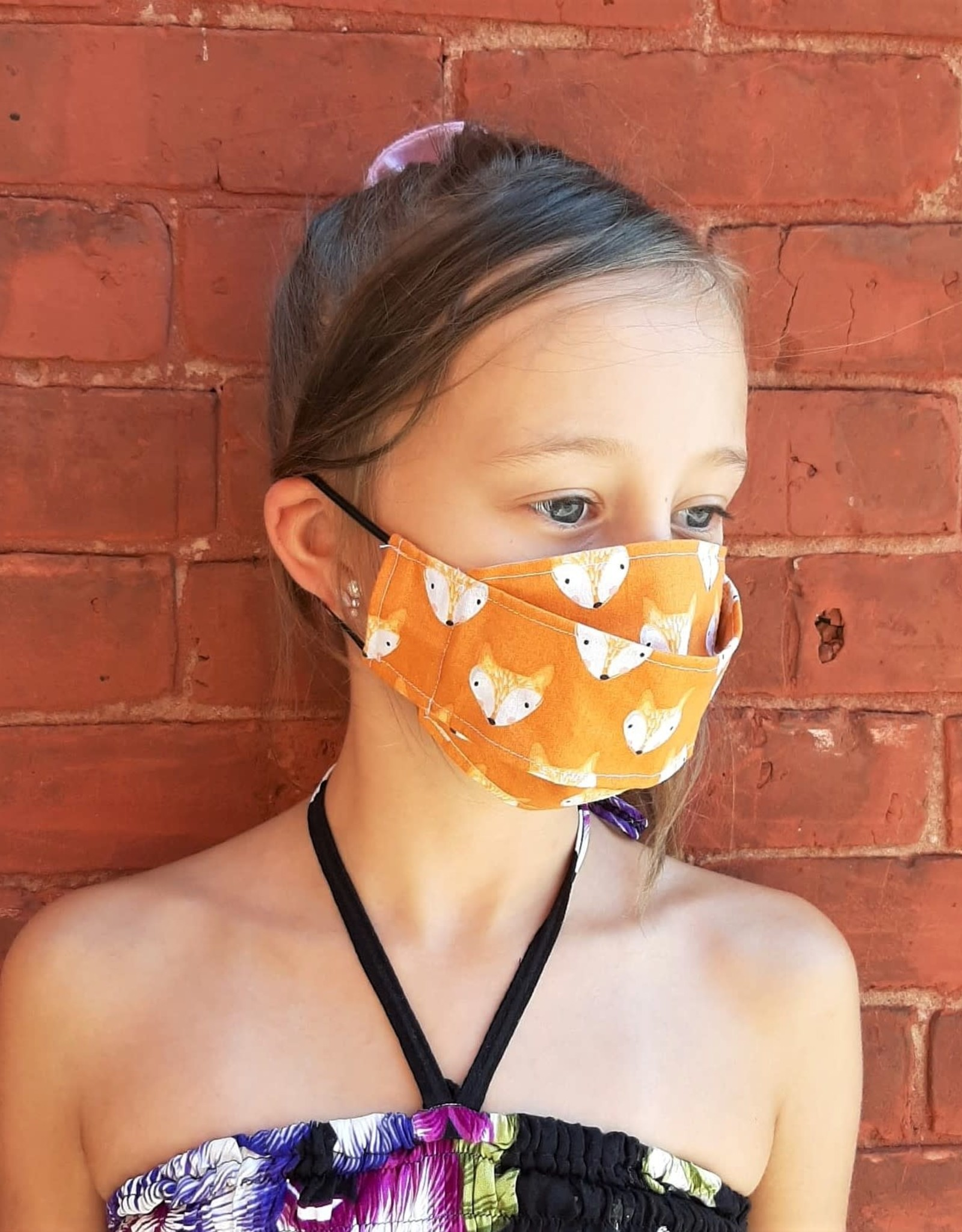 Child Face Mask - Adjustable Straps (Variety of Prints)