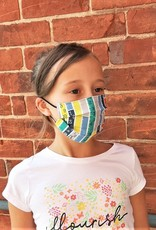 Child Pleated Face Mask - Adjustable Straps (Variety of Prints)