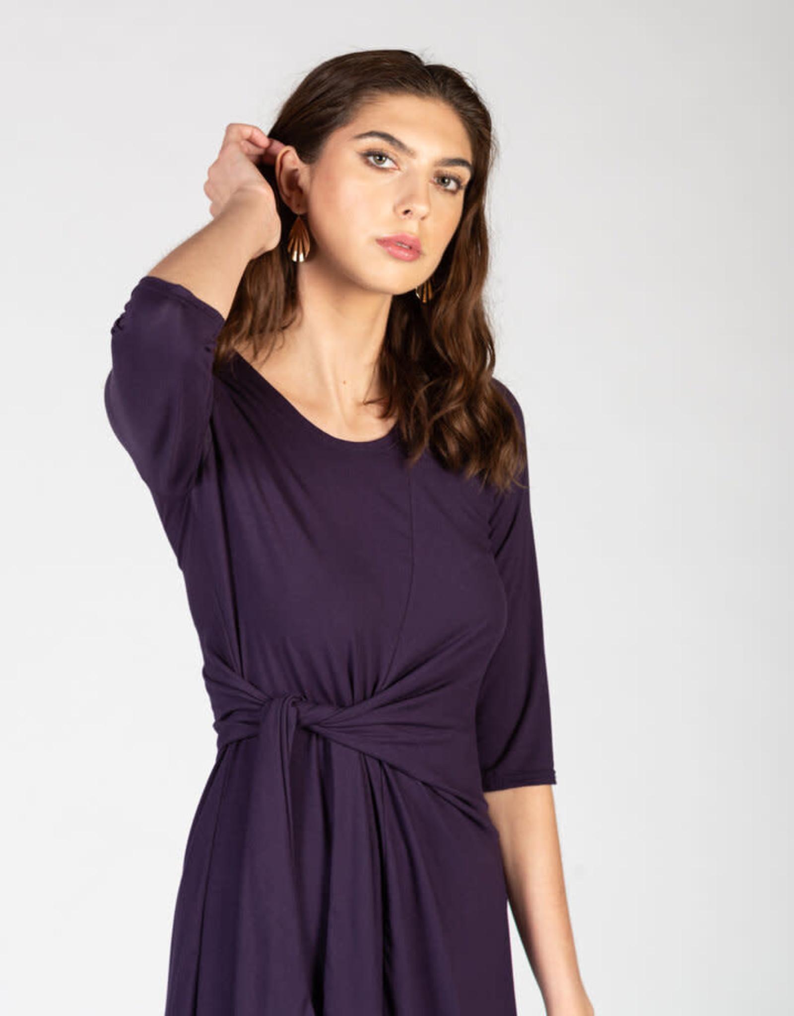 Whippoorwill Dress - Purple & Navy