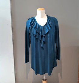 Sympli Revived Ruffle Tunic - Mallard