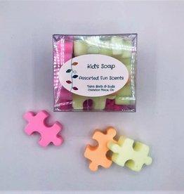 Tish's Bath & Suds Kid Puzzle Soaps
