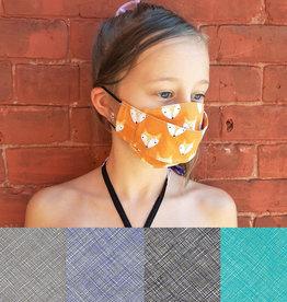 Child Adjustable Face Mask - Crosshatch