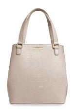 Celine Croc Day Bag Oyster
