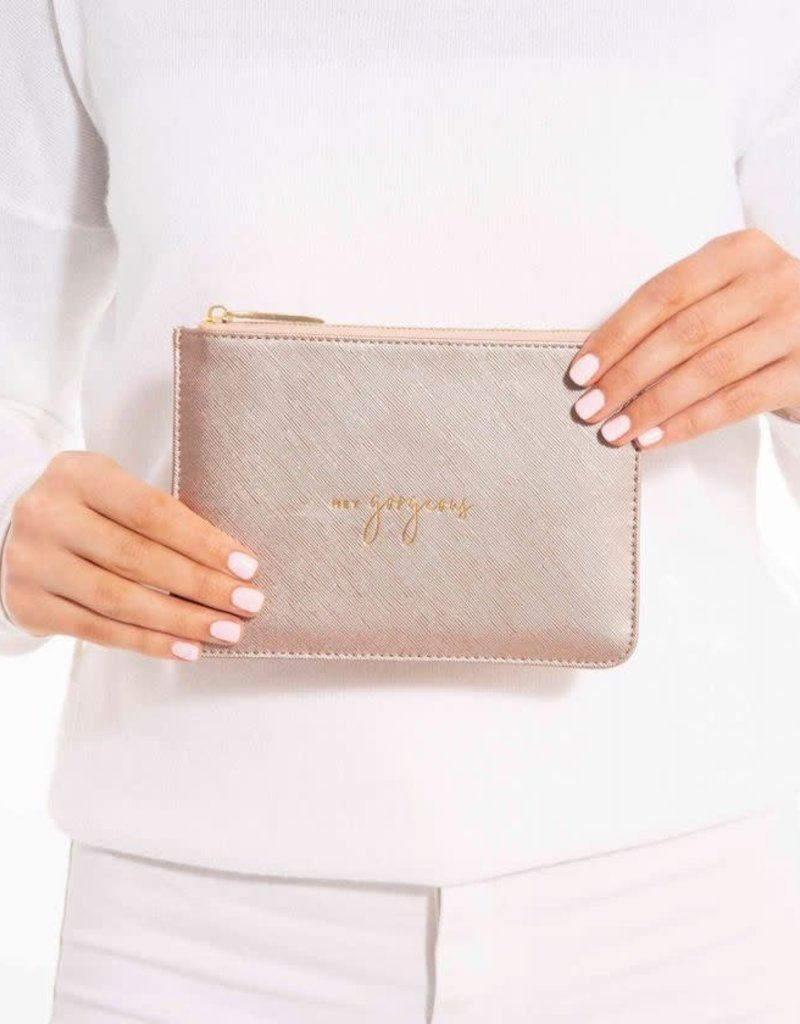 Petite Perfect Pouch Rose Gold