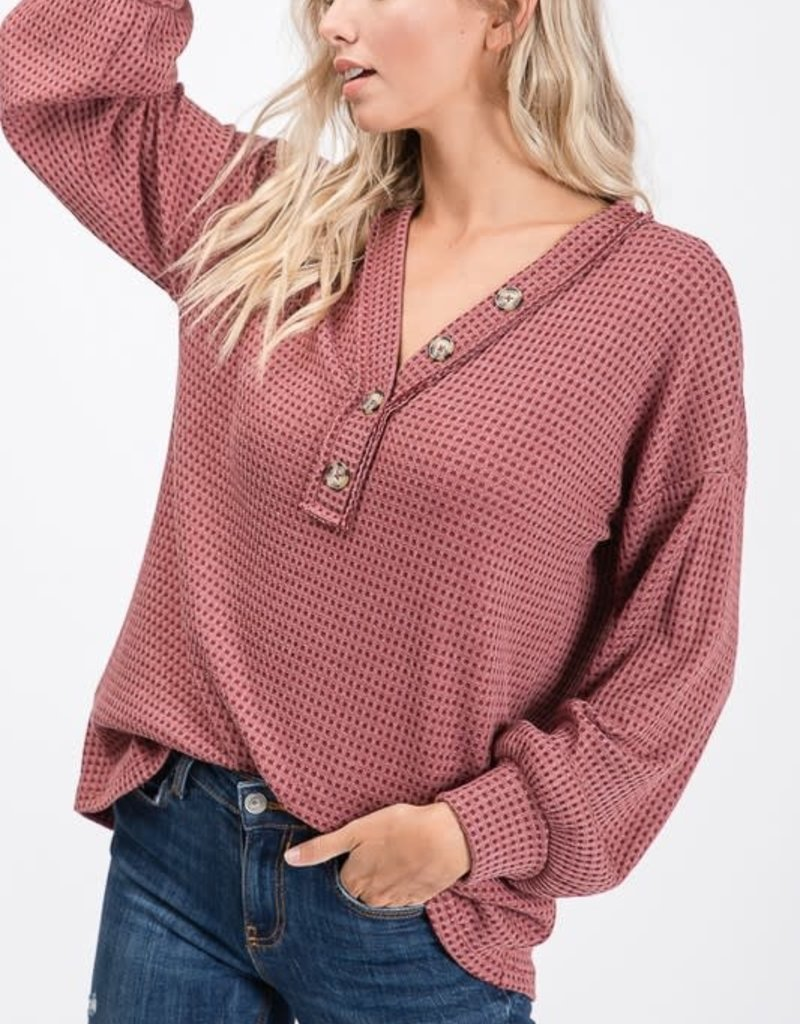 Burgundy Two Tone Thermal
