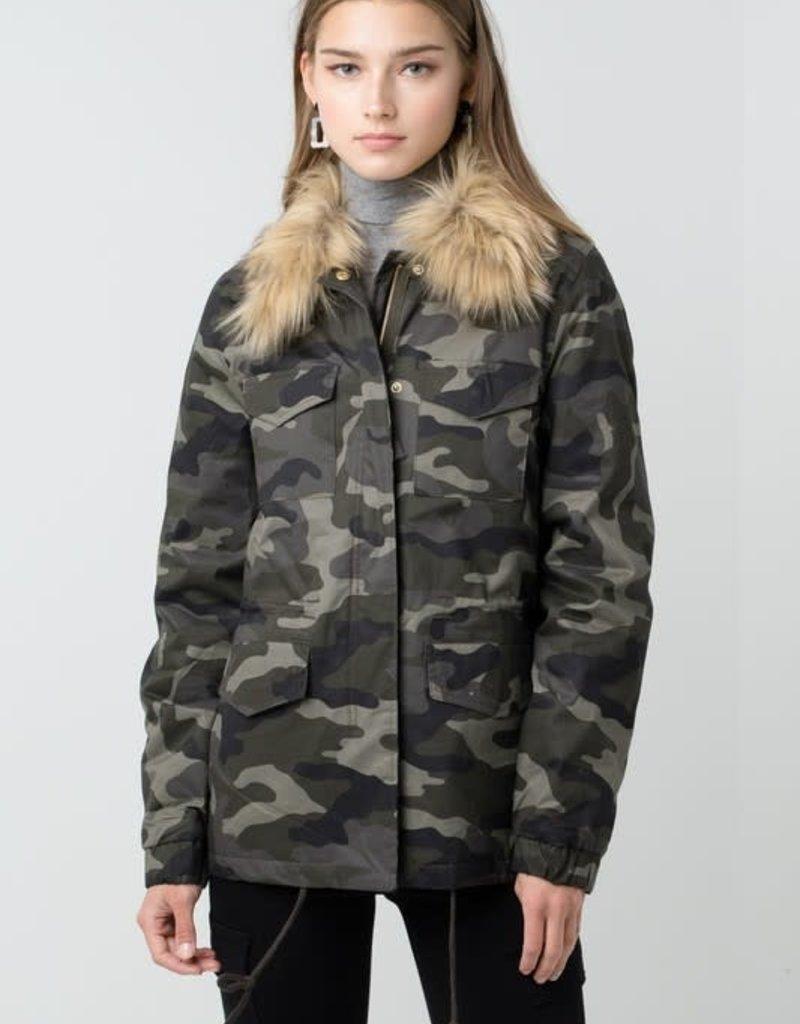 Camo Anorak Utility Jacket