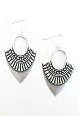 Beljoy Esmerelda Earring Silver
