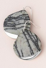 Stone Dipped Teardrop Picasso Jasper