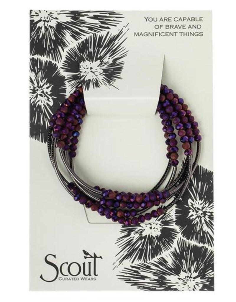Scout Wrap Dahlia/Hematite