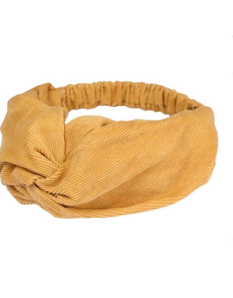 Mustard Headwrap