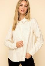 Star Print Flannel