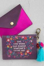 One Kind Word Card Holder