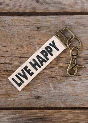 Live Happy Key Fob