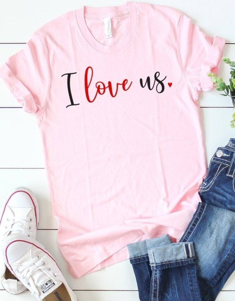 I Love Us Tee