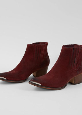 Dolly Burgundy Bootie