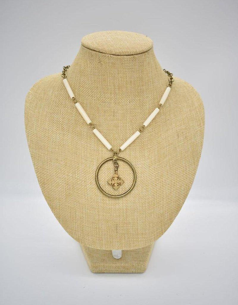 Ammo+Bone Necklace