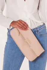 Alise Soft Pebble Fold Over Clutch