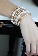 Eloise Bracelet Ivory Pearl