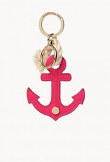 Icon Keychain Pink Anchor