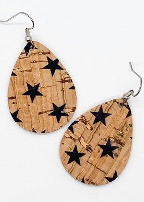 Black Stars Itty Bitty Corkies