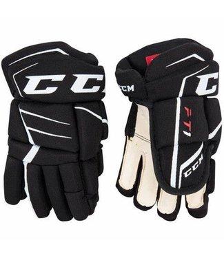 CCM Hockey - Canada HGFT1 Jetspeed FT1 Gloves Yth - Blk/Wht