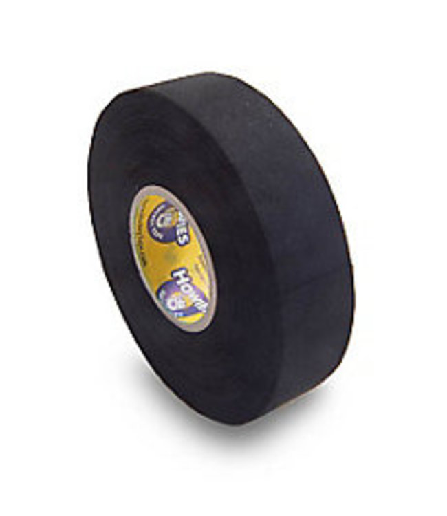 "Howies Hockey Inc Howies Black Cloth Stick Tape 1""x25yd"