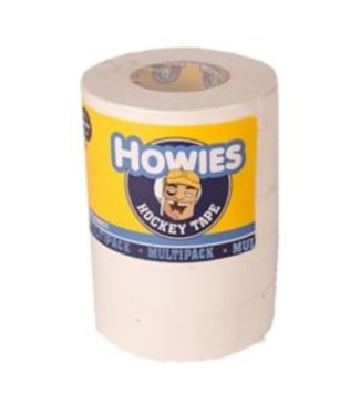 "Howies Hockey Inc Howies 5 Pack White Cloth Tape (1""x20yd)"