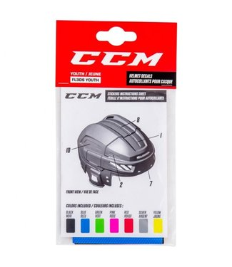 CCM Hockey - Canada ACCYTS Yth FL3DS Helmet Stickers