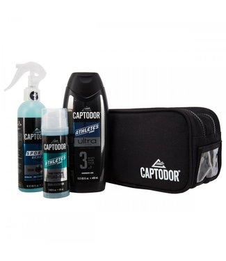 Captodor Toiletry kit (Bag, Capto 240ml, Shower gel, Hand gel) BLK
