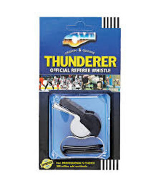 Whistle Thunderer Metal w/Tapered MP W47758.5
